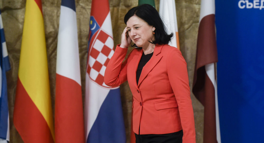 Eurokomisařka pro spravedlnost, ochranu spotřebitelů a otázky rovnosti pohlaví Věra Jourová
