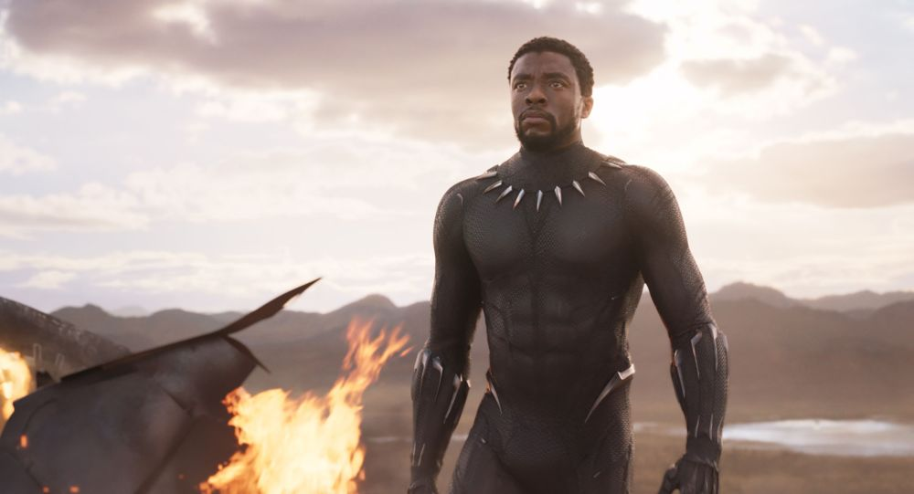 Záběr z filmu Black Panther od Marvel Comics