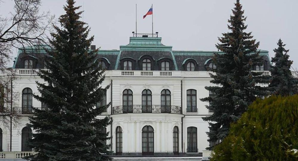 Velvyslanectví Ruska v Praze. Ilustrační foto