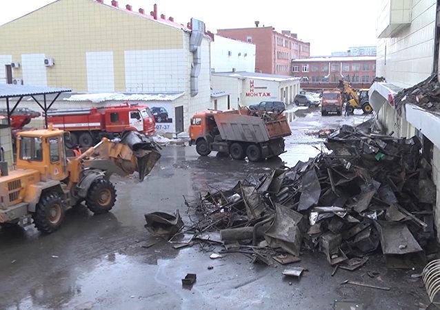 Požár v Kemerovu očima svědků