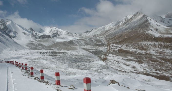 Hory v Ujgurské autonomní oblasti Sin-ťiang v Číně
