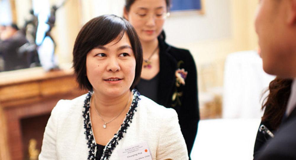 Oficiální čínská mluvčí Chua Čchun-jing