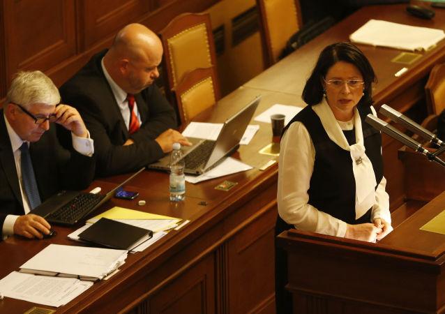 Poslankyně a někdejší šéfka sněmovny Miroslava Němcová
