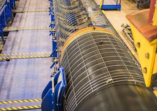 Potrubí pro plynovod Severní proud 2