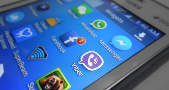 Viber, WhatsApp and other applications.