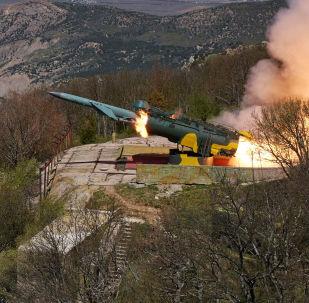Okřídlená raketa. Ilustrační foto