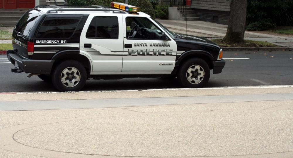 Policejní vůz v Kalifornii. Ilustrační foto