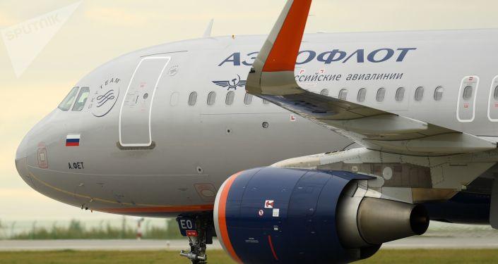 Airbus-A320 společnosti Aeroflot