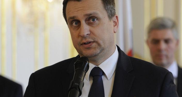 Předseda Národní rady Slovenské republiky Andrej Danko