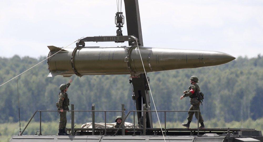 Raketový koplex Iskander M