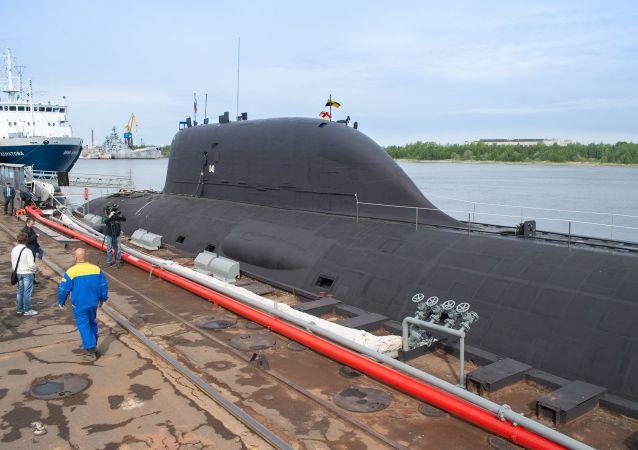 Mnohoúčelová atomová ponorka projektu 885 (0885) Jaseň
