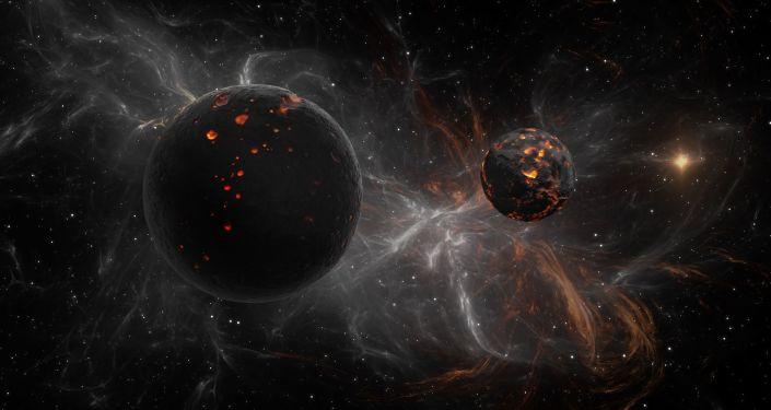 Temné planety v kosmu