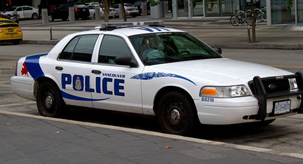 Vůz kanadské policie. Ilustrační foto