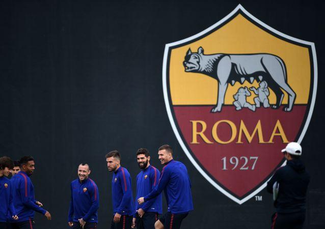 Erb fotbalov0ho klubu Roma