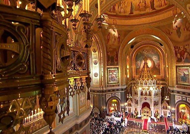 Velikonoce v Moskvě