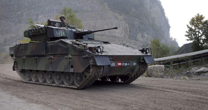 Rakouské bojové vozidlo pěchoty ASCOD Ulan