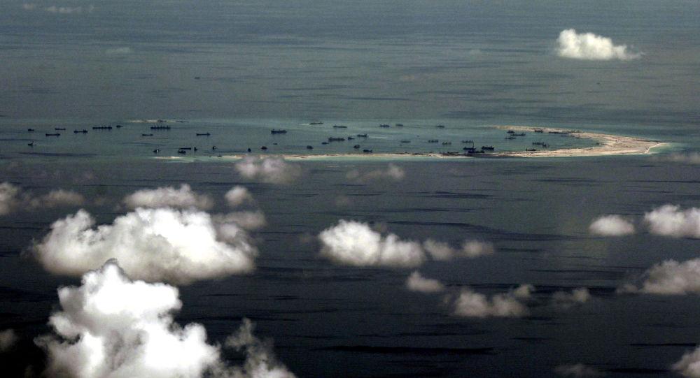 Spratlyové ostrovy v Jihočínském moři