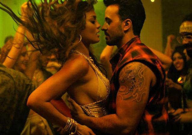 Záběr z klipu Despacito