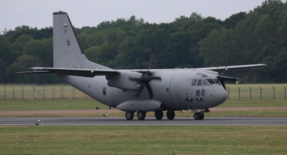 Vojenské nákladní letadlo Spartan