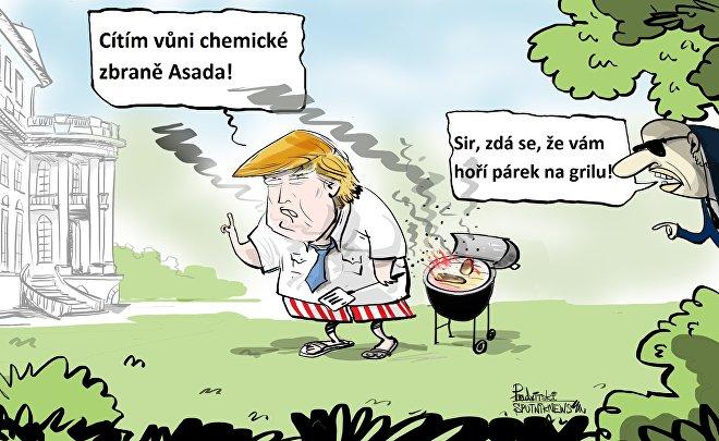 V Sýrii to zavání pečením
