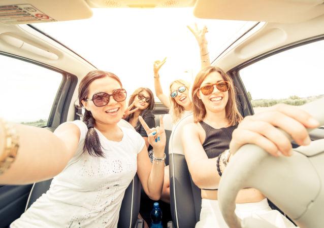 Ženy v autě