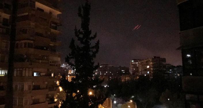 Útok USA na Sýrii.