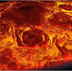 Sonda Juno pořídila jedinečné záběry obrovských Jupiterových cyklónů