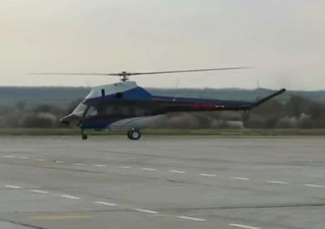 Byl odzkoušen první ukrajinský vrtulník