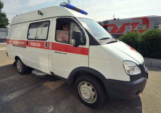 Ambulance. Ilustrační foto