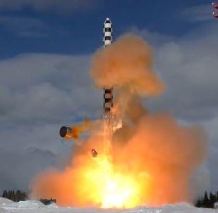 Start rakety Sarmat