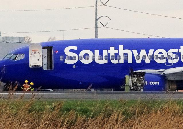 Letoun Boeing-737 americké společnosti Southwest Airlines