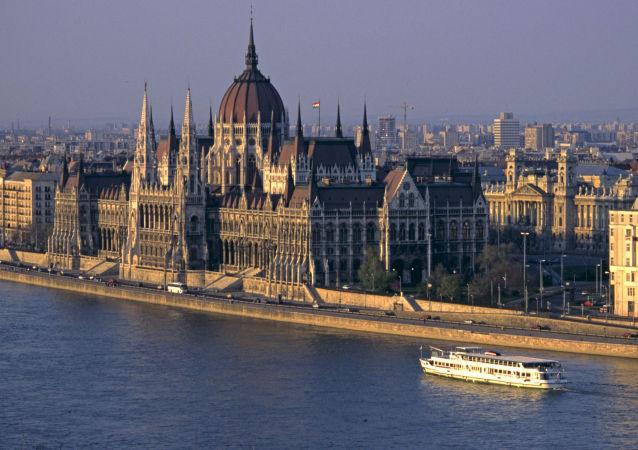 Pohled na Budapešť