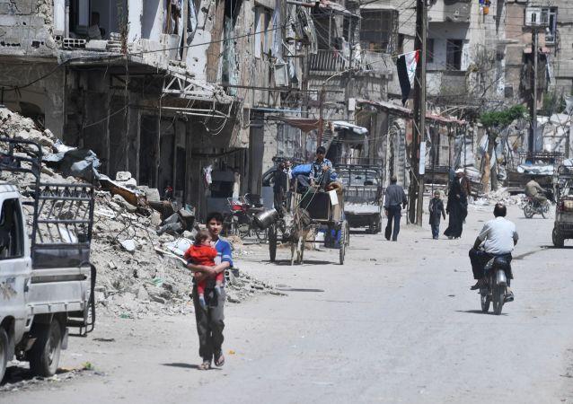 Předměstí Damašku Dúma