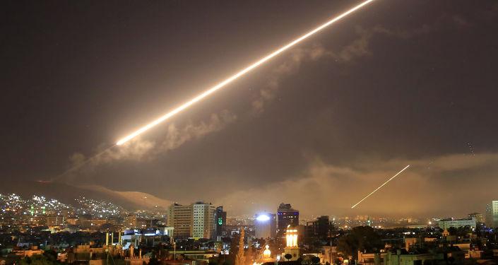 Raketový útok USA na Damašek