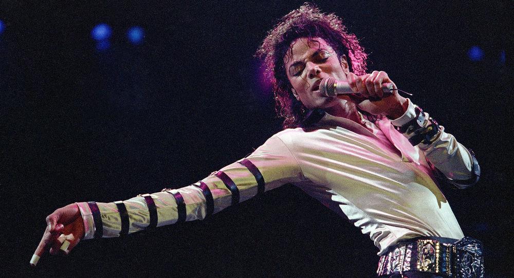 Americký popový zpěvák Michael Jackson