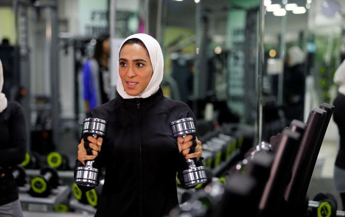 Ženské fitness orientálně. Jak sportují ženy v Saúdské Arábii