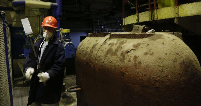 Měření radiace reaktoru