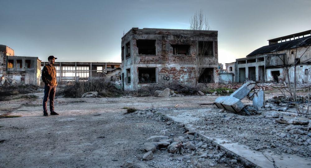 Zanedbané území v okolí Černobylské elektrárny