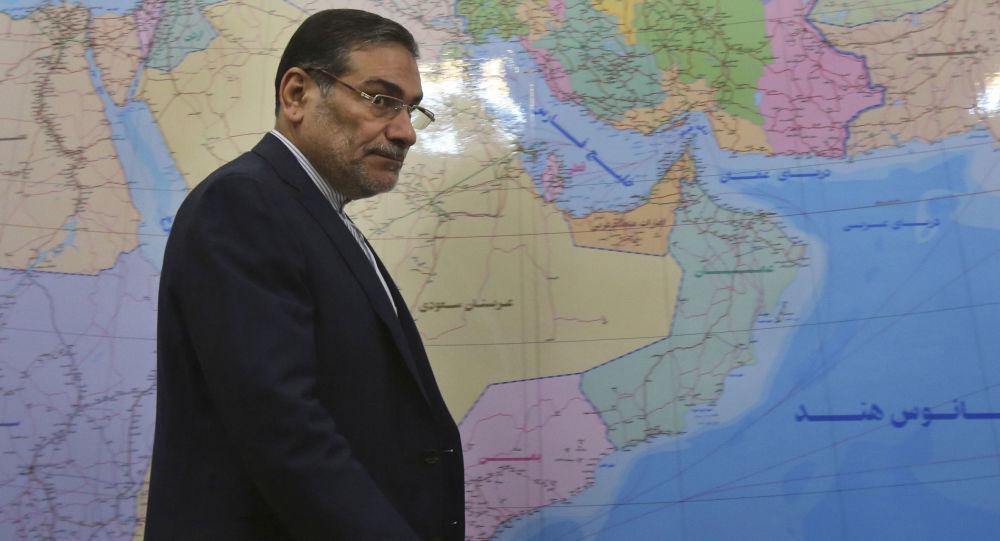 Tajemník Nejvyšší Iránské bezpečnostní rady Ali Shamkhani