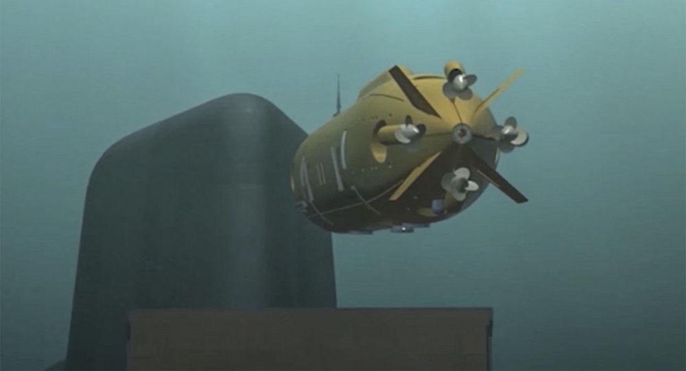 Multifunkční oceánský systém, který byl ukázán během vystoupení Vladimira Putina před Federálním Shromážděním