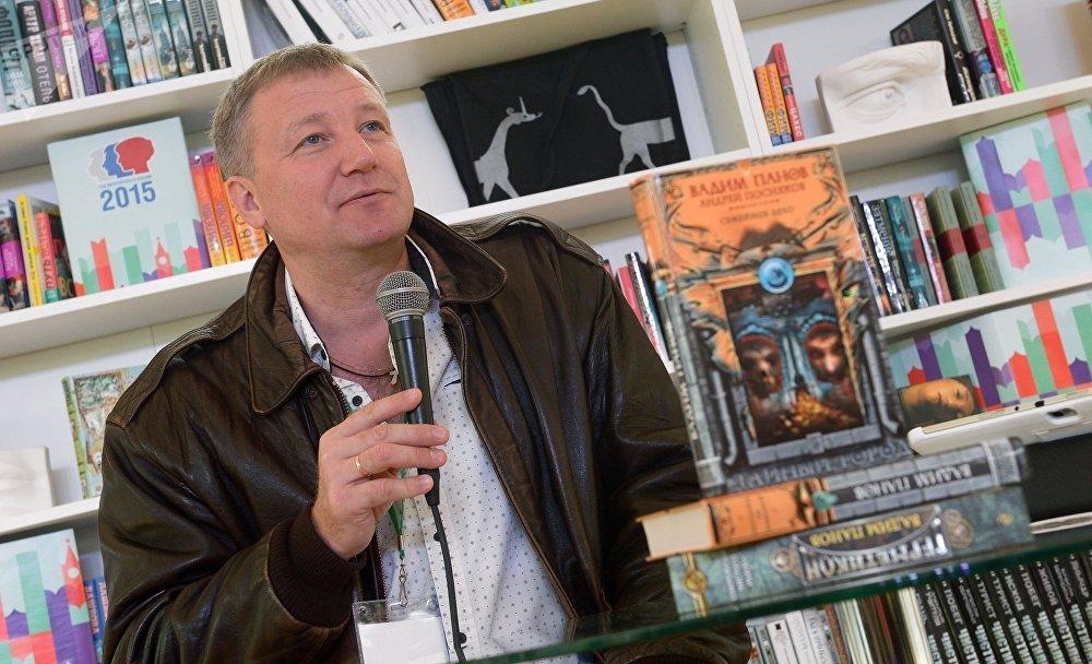 Ruský spisovatel Vadim Panov