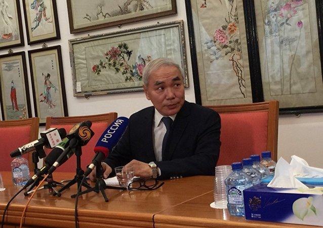 Zvláštní vyslanec pro Sýrii Xie Xiaoyan