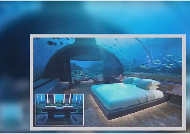Hosté tohoto hotelu na Maledivách budou moci spát mezi žraloky, pokud ovšem usnou