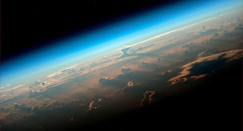 Pohled na Zemi s paluby ISS