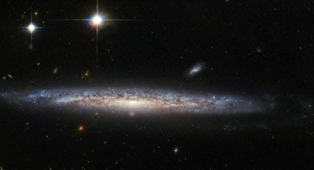 Foto galaxií udělané za pomoci teleskopu Hubble