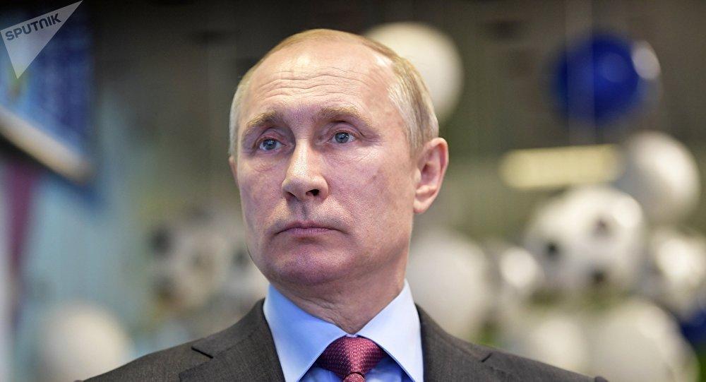 Vladimir Putin v Soči