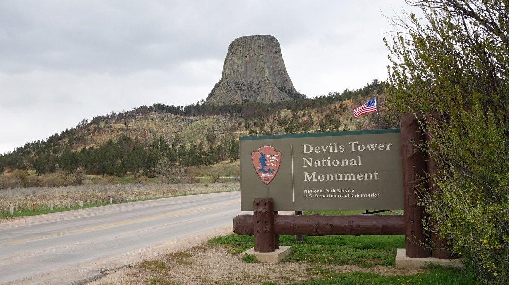 Skála ďábla nebo také Ďáblova věž byla v roce 1906 prvním objektem, který byl oficiálně uznaný za národní památku Ameriky