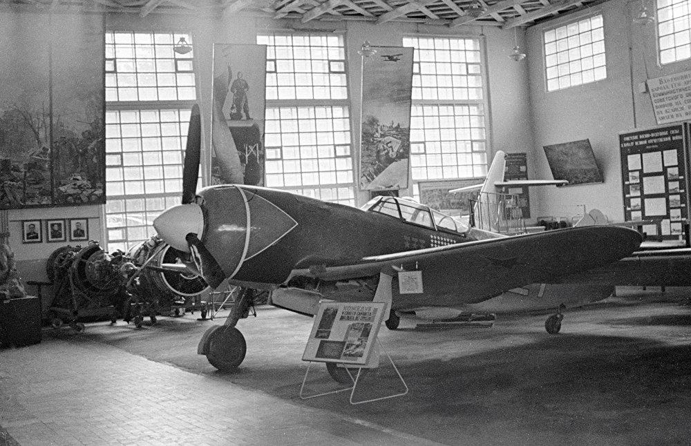 Ruský stíhací letoun La-7