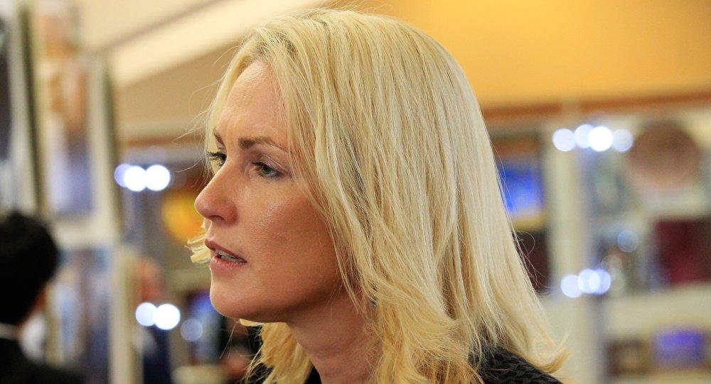 Místopředsedkyně spolkové země Meklenbursko-Přední Pomořansko a místopředsedkyně Sociálnědemokratické strany Německa (SPD) Manuela Schwesigová