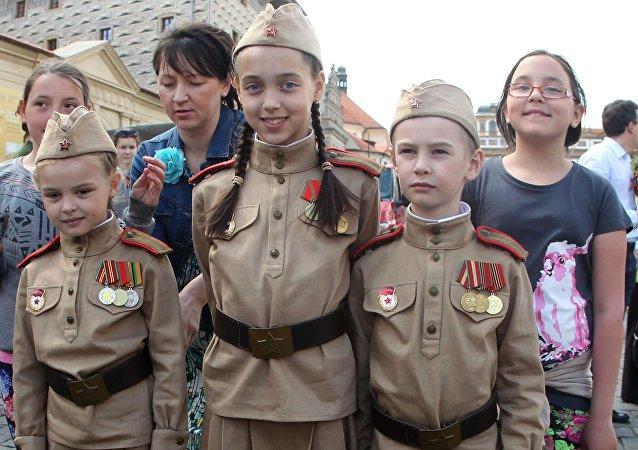 Akce Nesmrtelný pluk v Praze